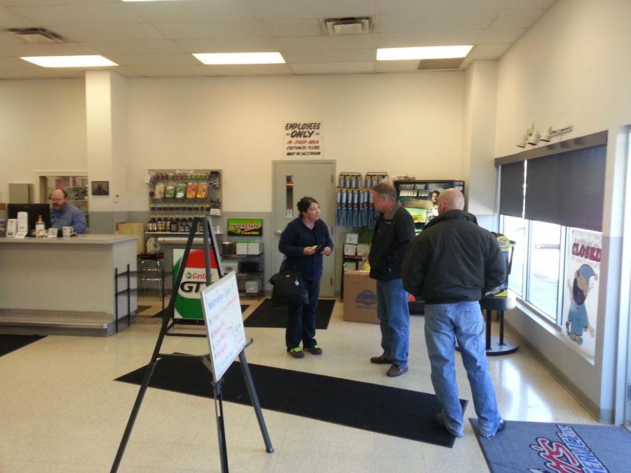 Scott's Automotive Service Lobby